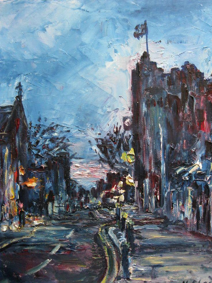 'Summer Evening, Dalkey Village'