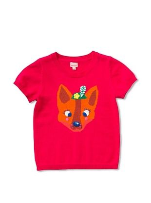 63% OFF Room 7 Girl's Keetje Fox Sweater (Bright Pink)