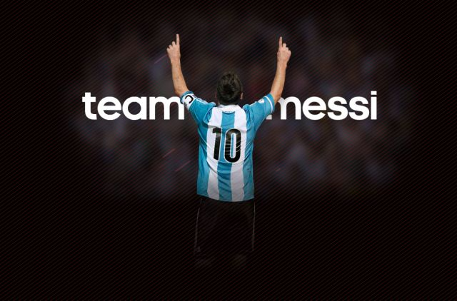Team Messi Facebook Integration with new Flash 3D and  Filming techniques.