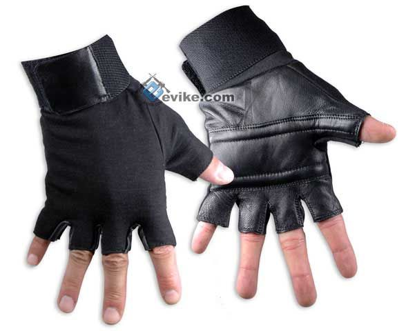 Matrix Special Forces Neoprene Tactical Gloves (Half Finger) - Small, Tactical Gear/Apparel, Gloves, Small Gloves - Evike.com Airsoft Superstore