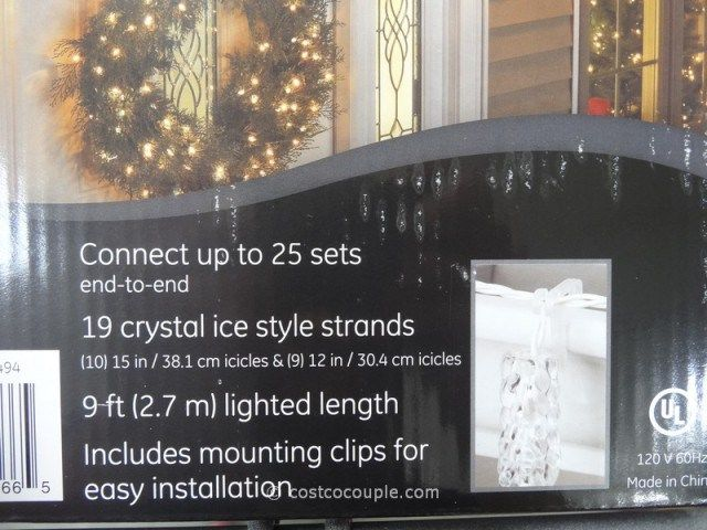 Costco Led String Lights Ge Led Icicle Lights Costco  Trains Wallpaper  Stuff To Buy