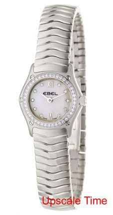 Ebel Classic Wave Ladies Jewelry Watch 9656F04/9725