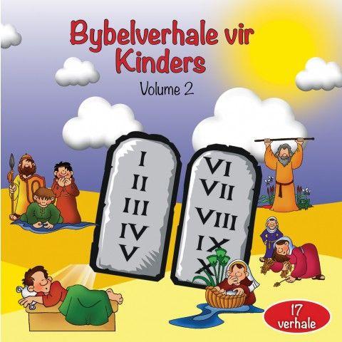 Bybelverhale Vir Kinders Volume 2 CD. Die Bybelverhale word eenvoudig vertel sodat kinders dit maklik kan verstaan.