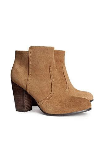 12 Perfect Pairs Of Tan Booties That'll Put A Spring In Your Step #refinery29  http://www.refinery29.com/61086#slide8