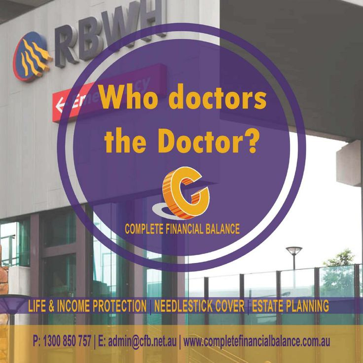 Who doctors the Doctor? Complete Financial Balance does.