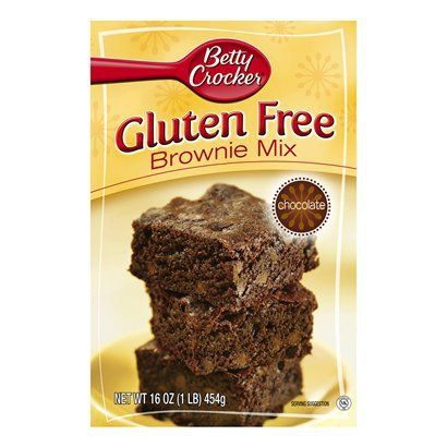 Betty Crocker Gluten Free Chocolate Brownie Mix 16 oz