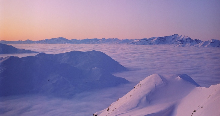 Above the clouds...Arosa
