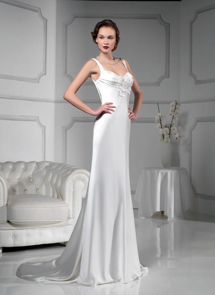 Tipi di seta per abiti da sposa