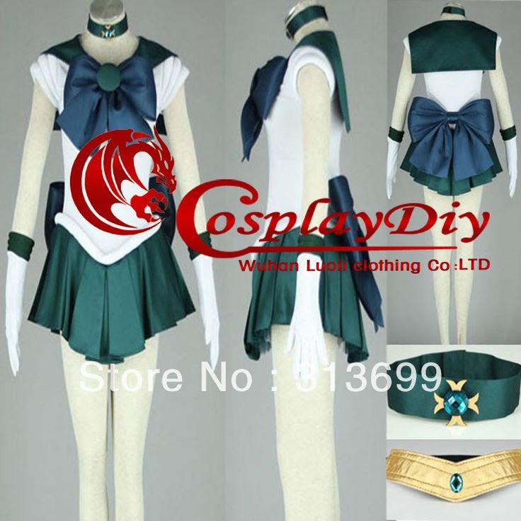 transporte gratuito de sailor moon kaio michiru traje cosplay