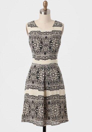 Genevieve Printed Dress
