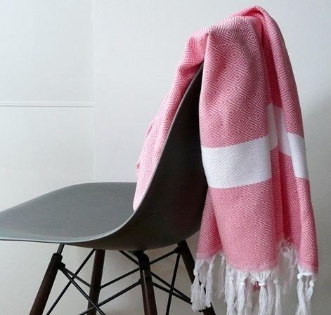"""Handtücher - Hamamtuch """"Sada"""" ♥ personalisierbar - ein Designerstück von…"""