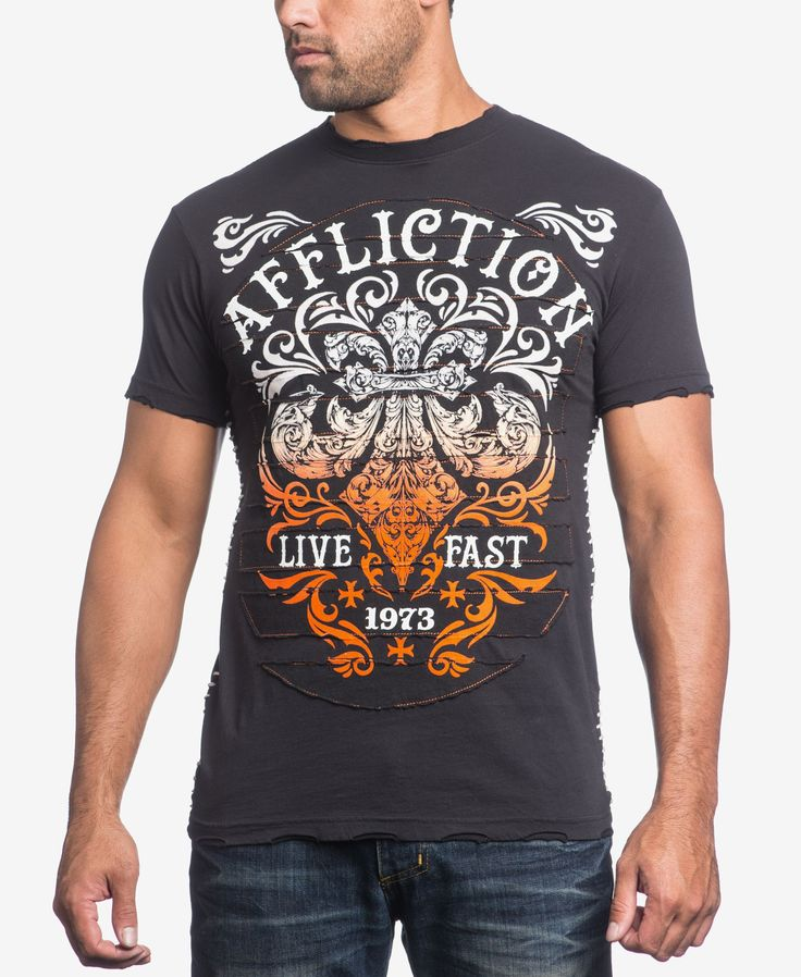 Affliction Men's Truth & Consequence T-Shirt