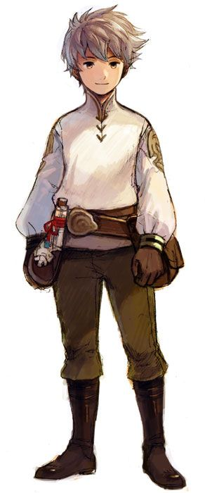 Tiz Aurior is my favorite character from Bravely Default. One of the hardest games I have ever played, but so rewarding.