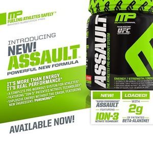 MusclePharm Assault Pre-Workout Review  #gym #preworkout #supplement http://gazettereview.com/2016/02/musclepharm-assault-pre-workout-review/