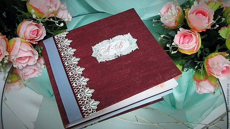 """Купить Книга пожеланий """"Фамильная"""" - гостевая книга, книга пожеланий, книга ручной работы"""