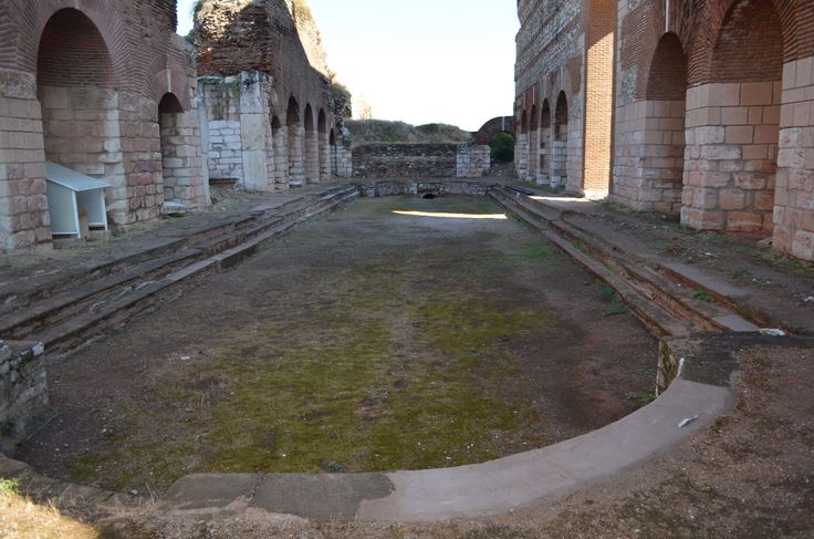 interior of the pool Thermes of Sardes- Lydia