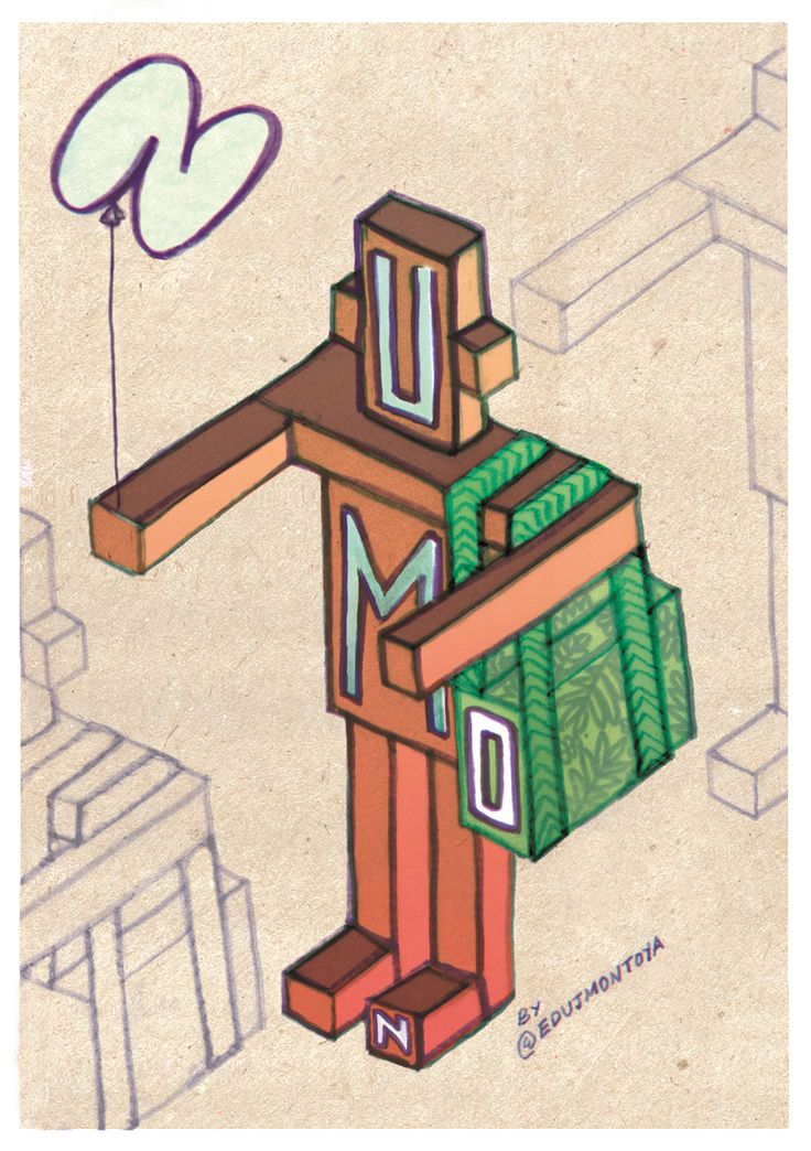 Illustration made by Edu J. Montoya for Numon