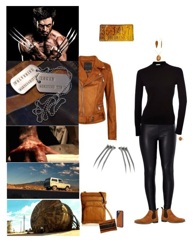 """Wolverine Woman"" by blackmagicmomma ❤ liked on Polyvore featuring Venus, Red Tape, Afonie, Deux Lux, Native Union, CVC Stones, Panacea and Ginette NY"