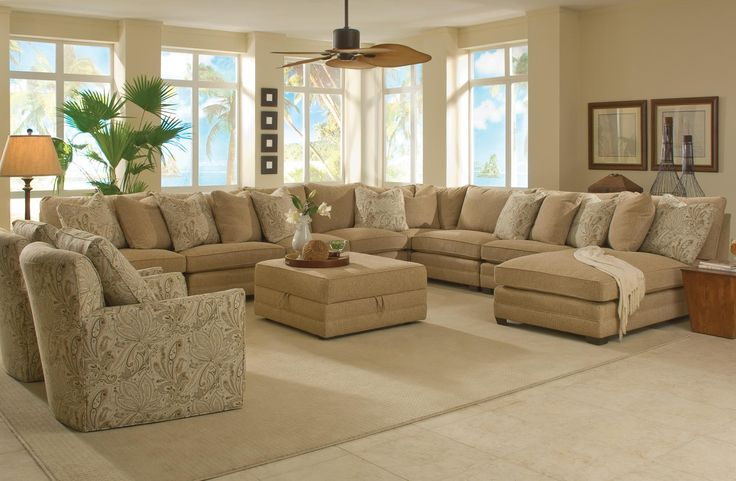 Extra Wide Sectional Couch