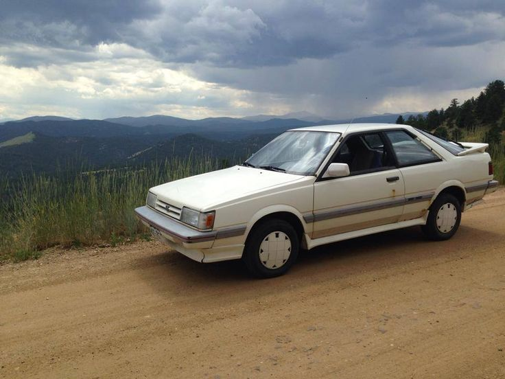 We're throwing back to 1988 today with a Subaru RX Turbo. Check out this awesome car from Zack Finger. #TBT