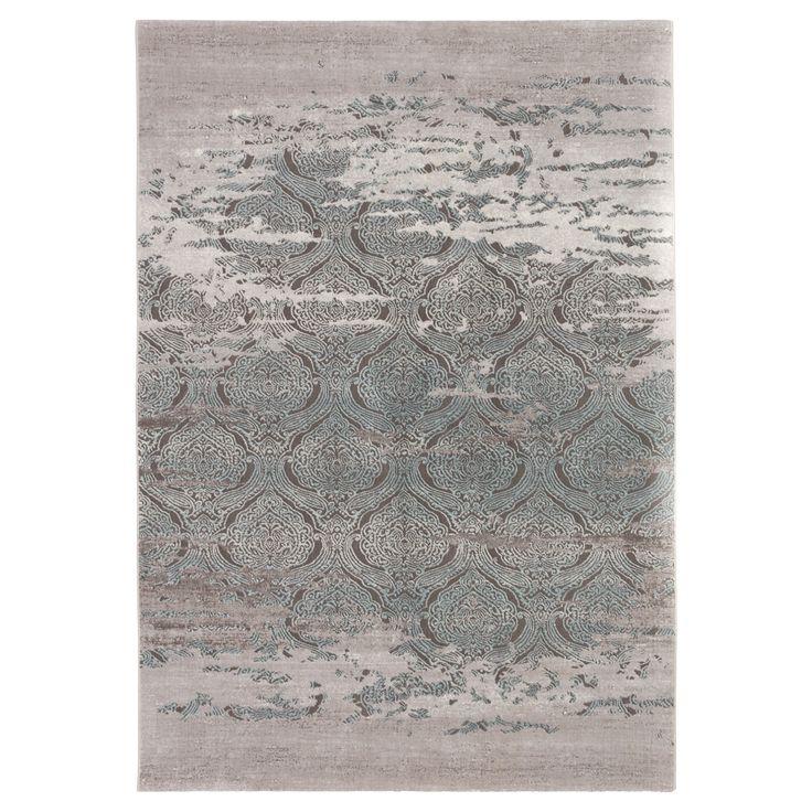 Vloerkleed MOMENCE - Vloerkleed met versleten Barok look. Veerkrachtig, slijtvast en voelt zacht aan. 190x133 cm (lxb). #kwantum #vloerkleed #vloerbedekking #opdevloer #wonen #interieur