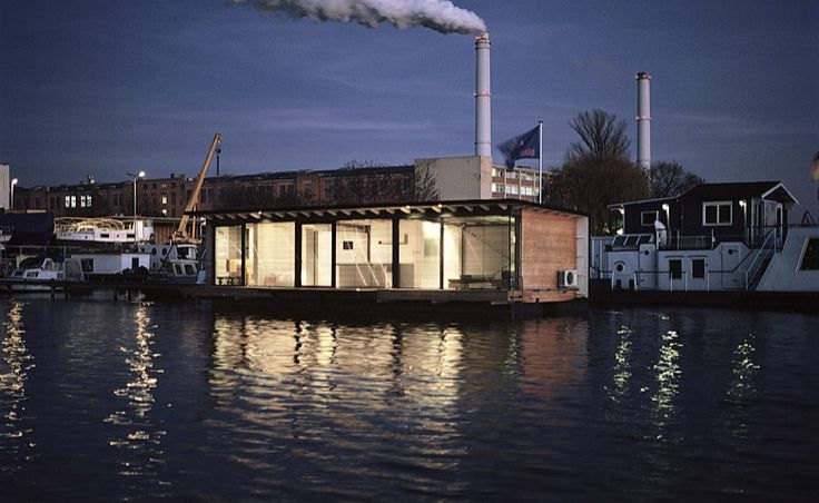 Modern Houseboat in Berlin, Germany: for a special week   Tododesign by Arq4design