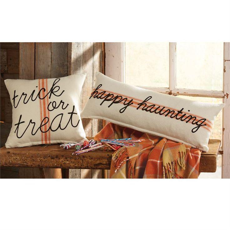 Grainsack Trick Or Treat Halloween Pillow. Halloween Home DecorHalloween ...