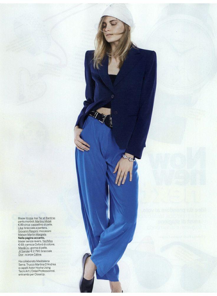 Su GIOIA del 03.05.2014 pantalone MARTINO MIDALI.  In vendita in tutte le boutique Martino Midali e sullo Shop Online: http://www.martinomidali.com/store/it/abbigliamento/pantaloni-e-gonne/pantalone-tagli-7513.html  #martinomidali #midali #pants #pantaloni #blu #fashion #gioiamagazine #model #photo #stylist #style