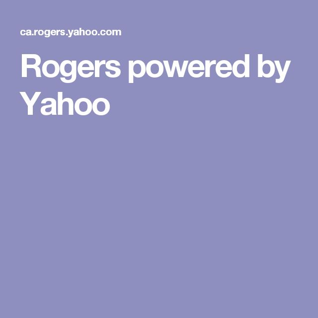 Rogers powered by Yahoo