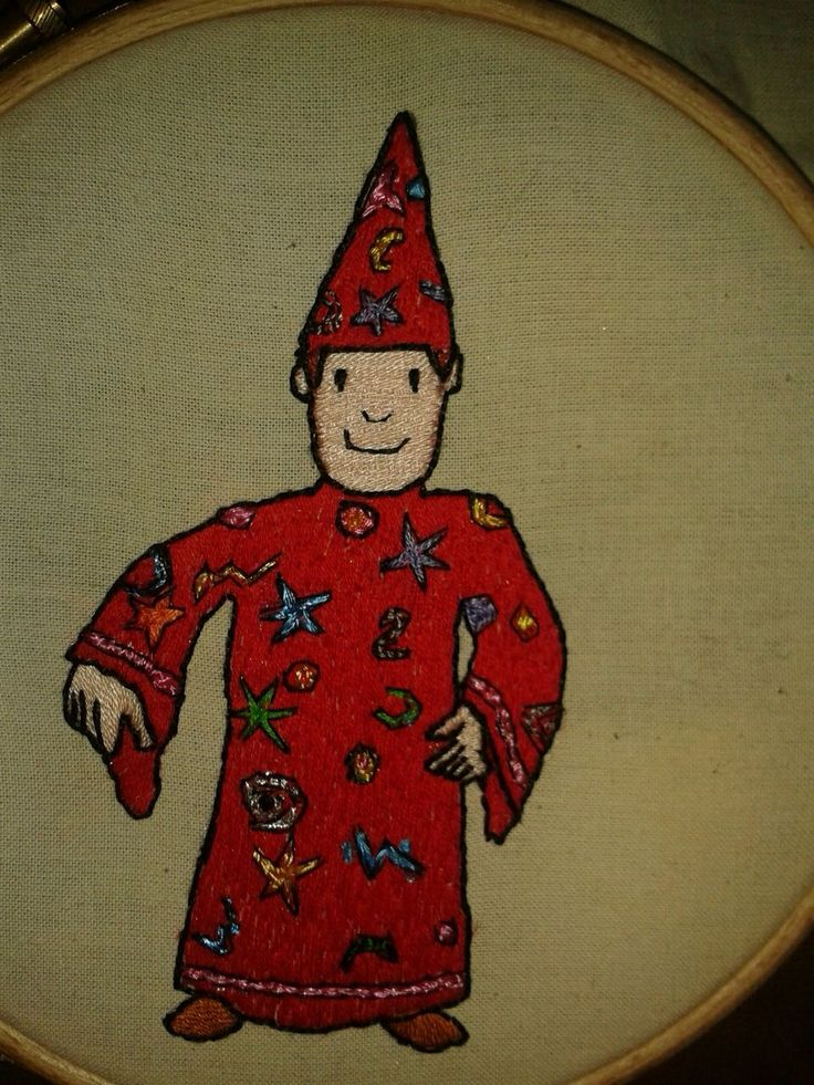 Mr Benn Wizard
