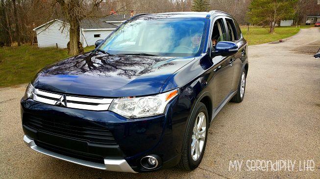 Mitsubishi Outlander Review #DriveShop