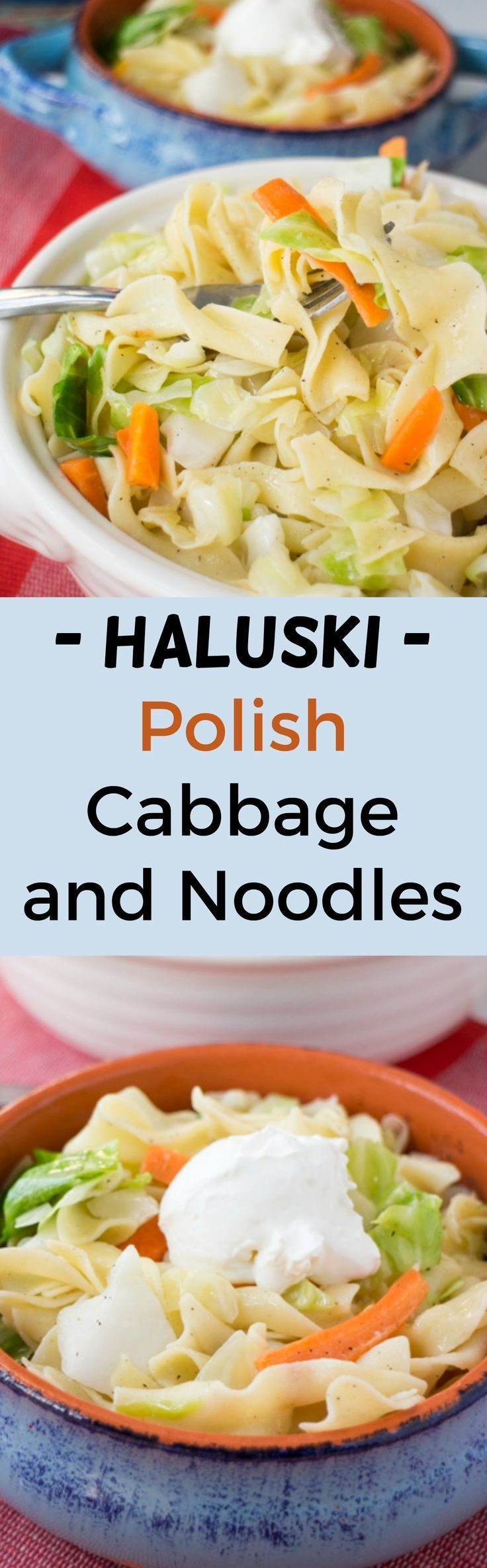 Haluski is a popular Eastern European dish, especially in Poland, that is quick and easy to make.  A big bowl of noodles and vegetables is sure to please your entire Family at dinnertime. Enjoy this delicious Haluski recipe passed on to me by my Polish gr