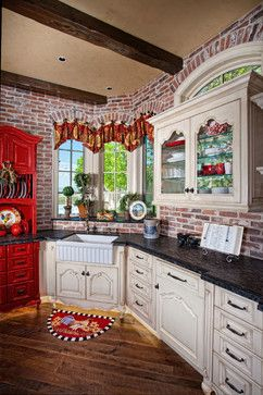 Country French Design Ideas, Pictures, Remodel, and Decor - page 66  Need Kitchen Decorating Ideas? Go to Centophobe.com | #Kitchen #kitchen decorating ideas