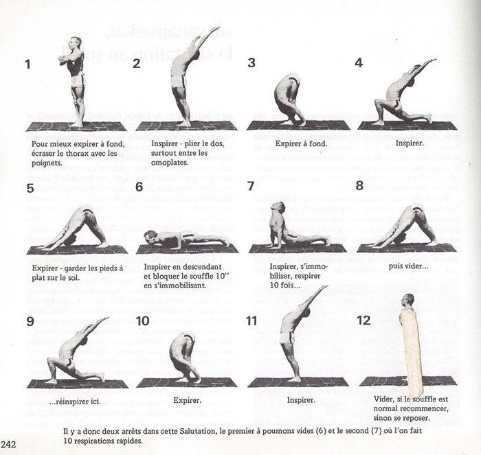 yoga la salutation au soleil
