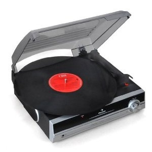 Auna TBA-298 Turntable Built In Speakers Retro Stereo
