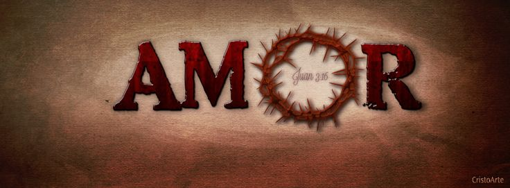 Amor: Juan 3:16 -  Portadas para Facebook - Facebook covers