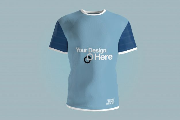 Download View Of A Soccer Jersey Uniform Mockup P Premium Psd Freepik Psd Mockup Sport T Shirt Football Sport Shirt Design Jersey Uniform Soccer Jersey
