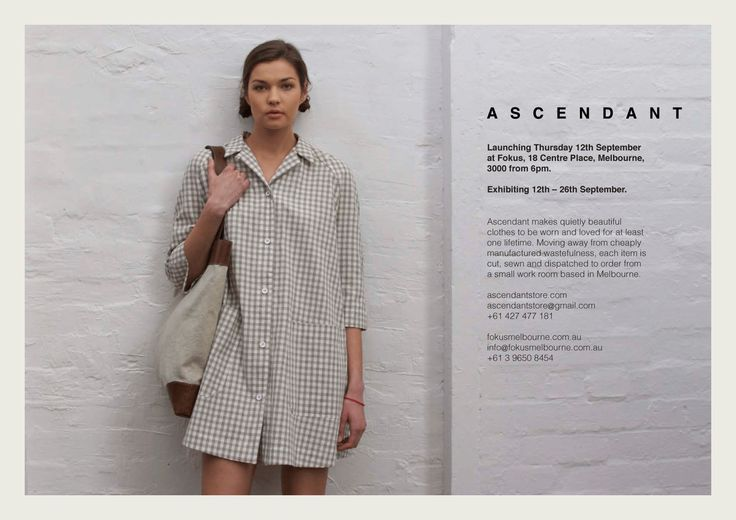 Ascendant launch Invite 2013 #Ascendant #Ascendantstore
