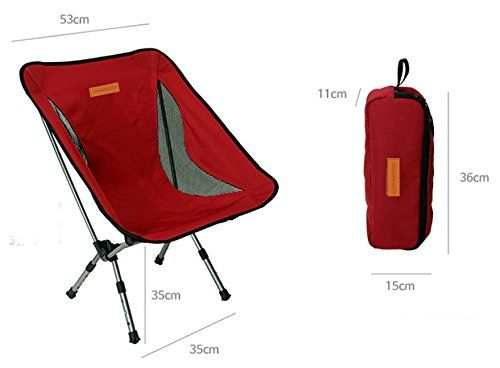 Trekology Portable Camping Chairs with Adjustable Height - Compact Ultralight Folding Backpacking Chair with a Carry Bag, Heavy Duty 300 lb Capacity, Great for Hiker, Camp, Beach, Fishing, Outdoor. For product & price info go to:  https://all4hiking.com/products/trekology-portable-camping-chairs-with-adjustable-height-compact-ultralight-folding-backpacking-chair-with-a-carry-bag-heavy-duty-300-lb-capacity-great-for-hiker-camp-beach-fishing-outdoor/