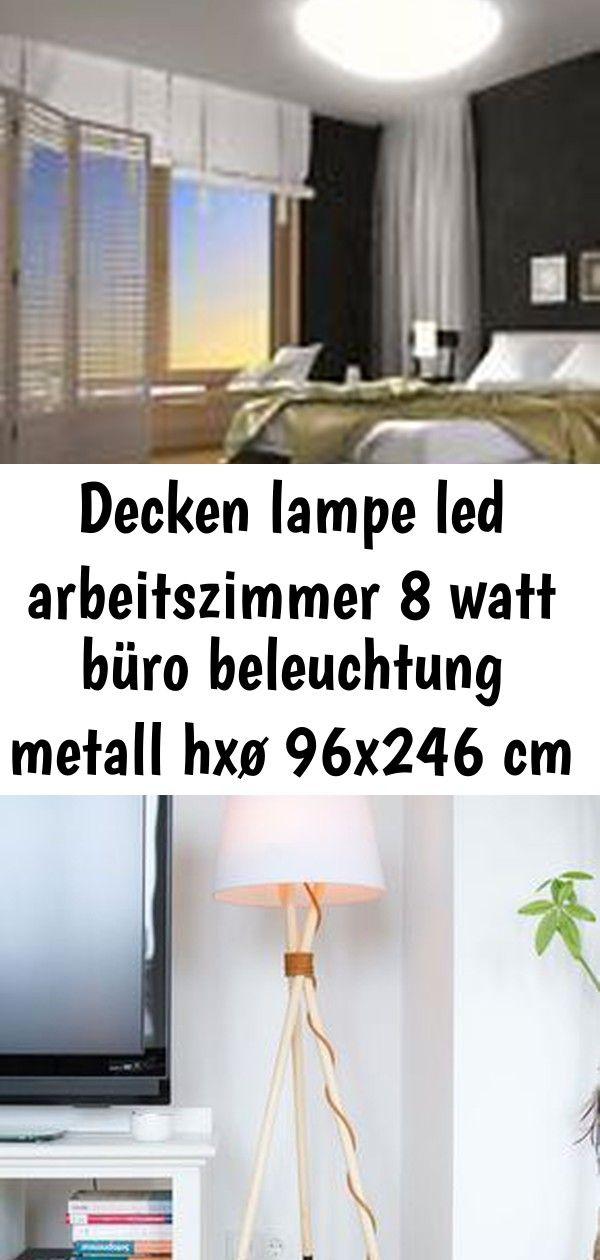 Decken Lampe Led Arbeitszimmer 8 Watt Buro Beleuchtung Metall Hxo 96x246 Cm Stehlampe Diy Tutorial Von Pech Schwefel Desklamps Schone Sch Decor Led Home Decor
