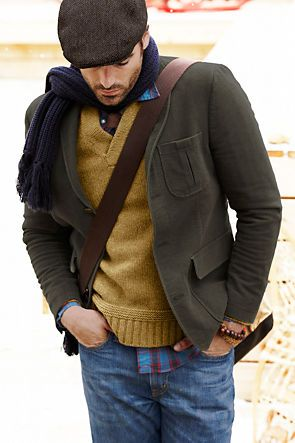 winter layers - men's style