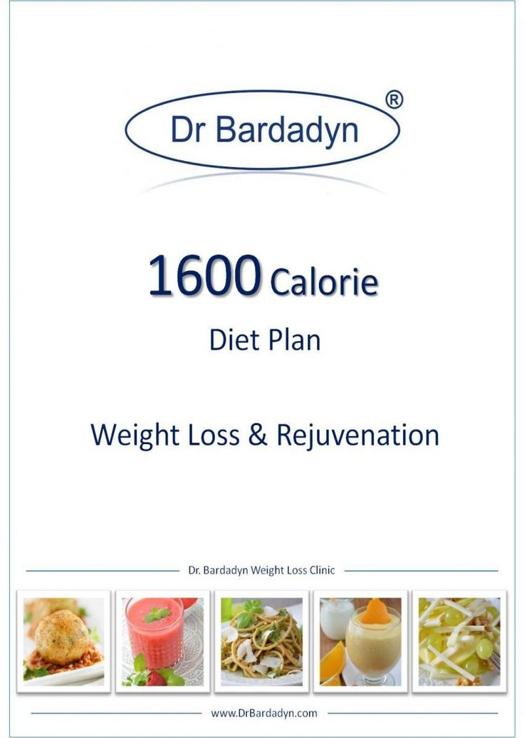1600 calorie diet plan - rejuvenation
