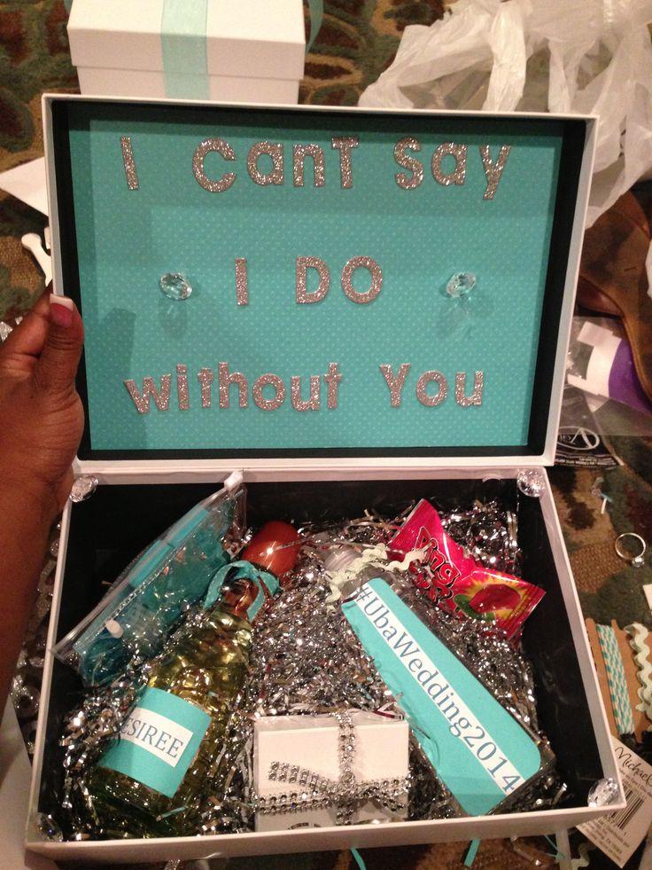 Bridesmaid invitation DIY
