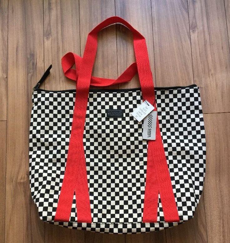 Vans Tote Bag Point Break Large Checkers