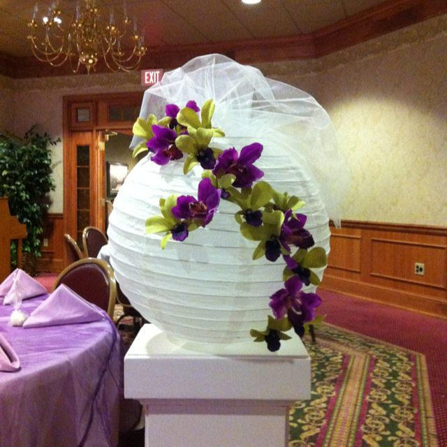 Feeling creative? Decorate your wedding lanterns with some beautiful spring…