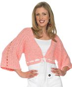 Crochet Bolero Ddsigned by Michele Thompson - free pattern