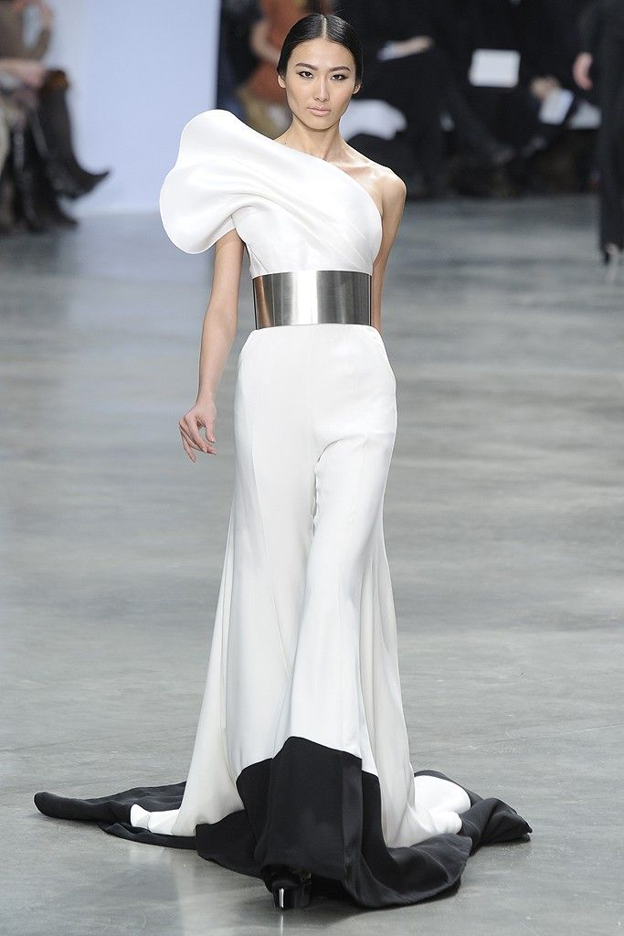 My fave from this collection. Even though it's a jumpsuit. Stéphane Rolland SS13
