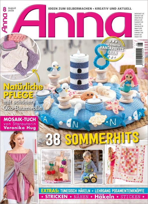 Zeitschrift Anna Aa0818 38 Sommerhits Genießen Sie Entspannte