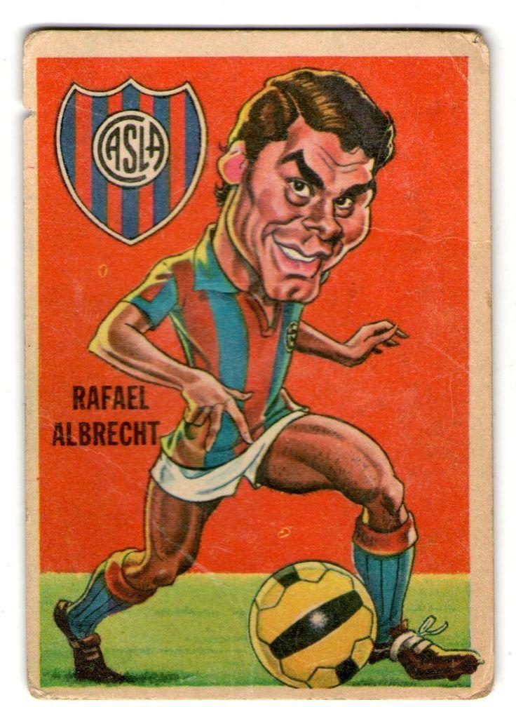 Rafael Albretch - San Lorenzo #77    1967