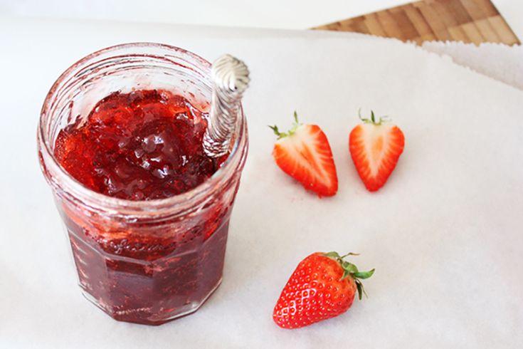 Zelf maken: Aardbeienjam